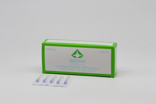 Micro-Injection, Needles 30G/0,30x13mm (with extra thin outer wall), 100pcs.